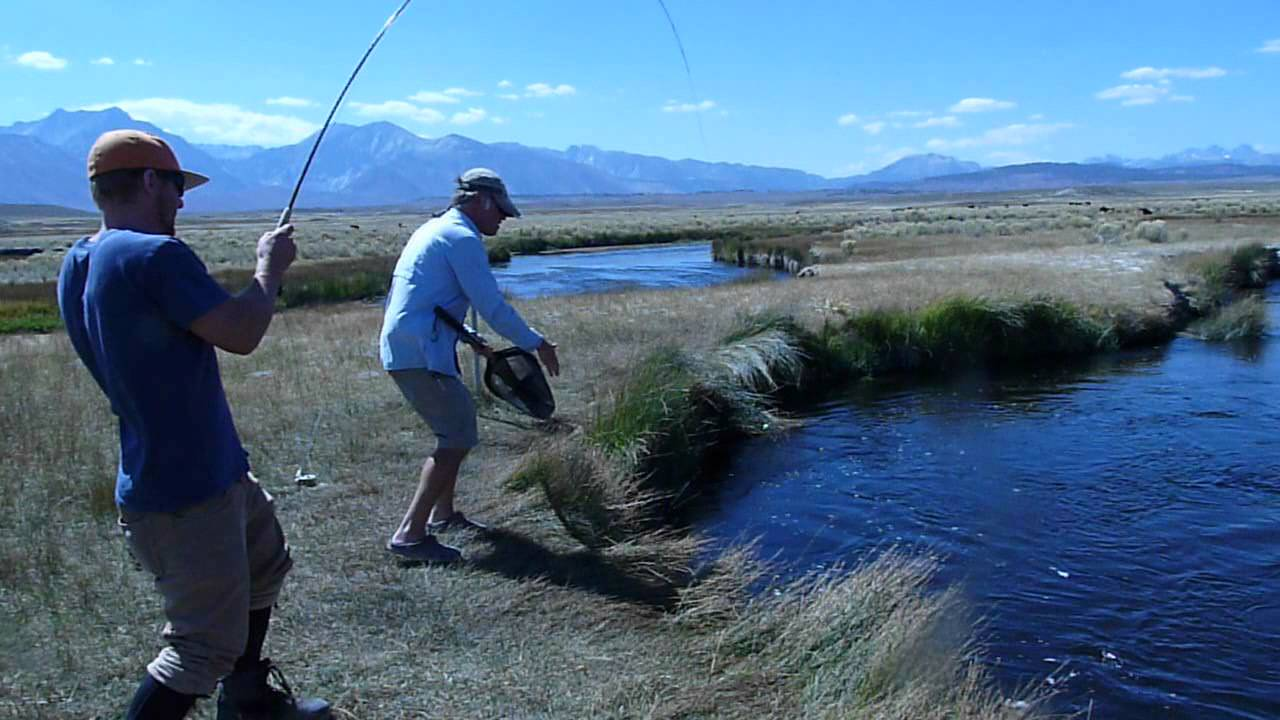 Fishing on the owens river the one that didn 39 t get away for Best fishing in california
