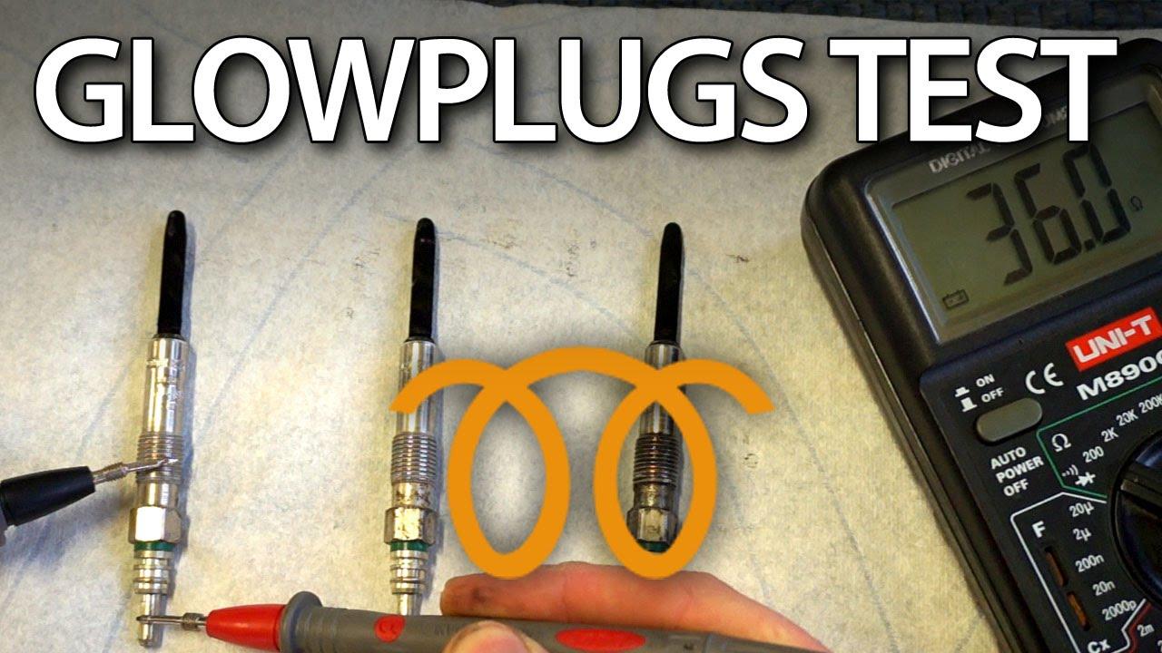 How To Check Diesel Glow Plugs   Diesel Engine  Car