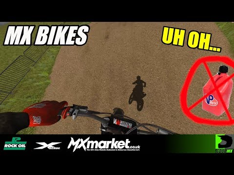 MX Bikes | Beta 12 | Matterly Basin Online - RAN OUT OF FUEL!!