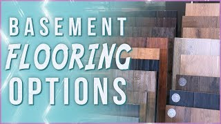 How to Choose Flooring for Your Basement