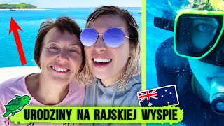 ️DZIEŃ NA RAJSKIEJ WYSPIE! pływam z żółwiami z mamą | Agnieszka Grzelak Vlog