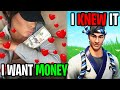 We Found Out His Girlfriend Is A Gold Digger... (Fortnite)