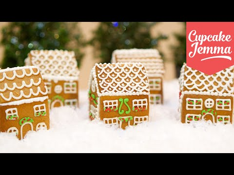 Download How to Make Mini Edible Gingerbread Houses! | Cupcake Jemma Pictures