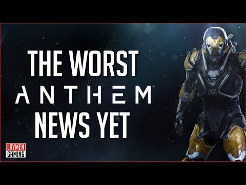 Anthem's Best Developer Leaves EA Bioware (Skill Up Cries IRL Tears)