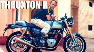 Want to buy the Triumph Thruxton R watch this first || Krishnendu Bike Review