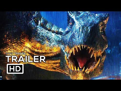 JURASSIC WORLD 2 Trailer #3 Teaser NEW (2018) Chris Pratt Fallen Kingdom Dinosaur Movie HD