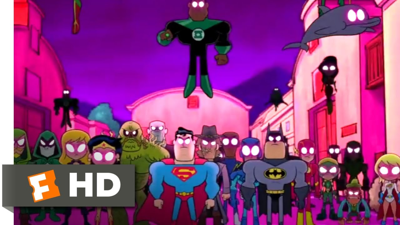 Teen Titans Go To The Movies 2018 - Justice League Vs Teen Titans Scene 910 -3562