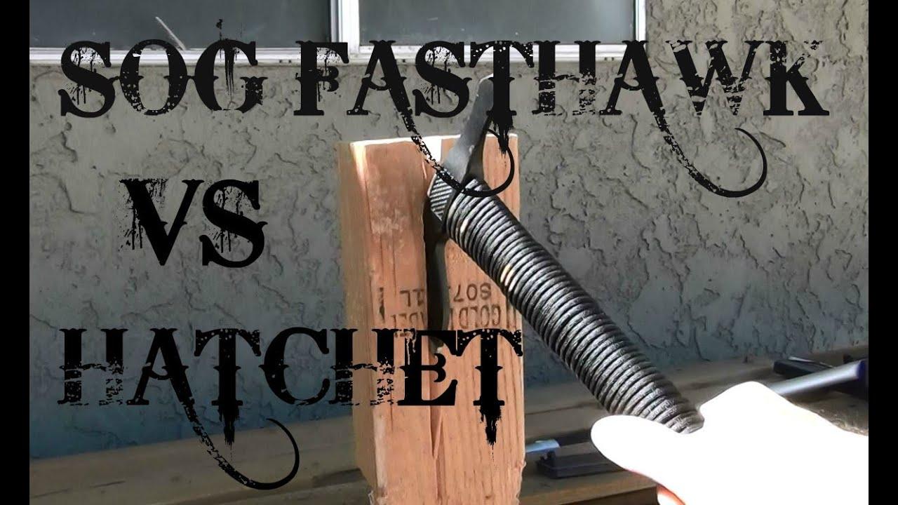 SOG Fasthawk Vs. Standard Hatchet for Bug Out Bag