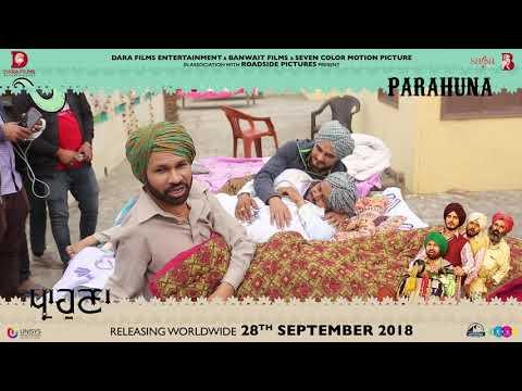 Parahuna - Making Of Trailer | Kulwinder Billa, Wamiqa Gabbi | Punjabi Comedy Movie | Rel 28th Sept.