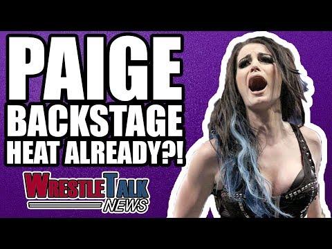 Paige Backstage Heat At WWE Raw ALREADY?! | WrestleTalk News Nov. 2017