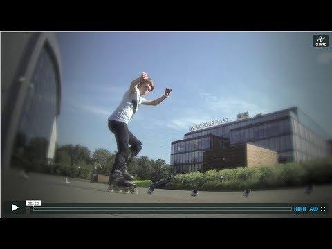 Экстремальное катание на роликах по городу   Doovi: http://www.doovi.com/video/ekstremalnoe-katanie-na-rolikax-po-gorodu/PJA9ClWJA7w