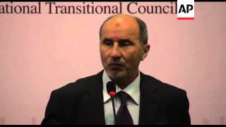 National Transitional Council news conference on Younis death
