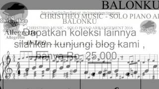 BALONKU - Lagu Anak - Christheo Music Solo Piano Arrangement 2016