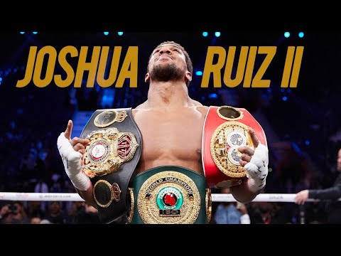 Rumble Young Man... Rumble ~ Anthony Joshua