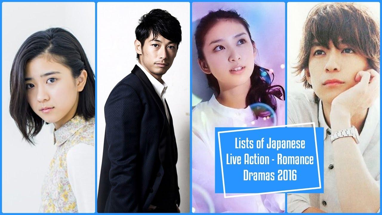 Lists of Japanese Live Action - Romance Dramas 2016