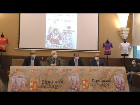 Presentación de la VI Edición Femenina de la Vuelta Ciclista a Burgos 2021