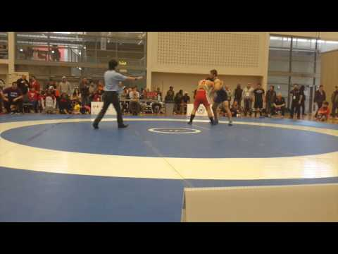 2015 Senior Greco-Roman National Championships: 85 kg Tom Barreiro vs. Kyle Bonk-Dann