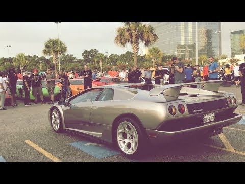 MASSIVE 1000+ Cars and Coffee Houston Texas - 4th of July Weekend