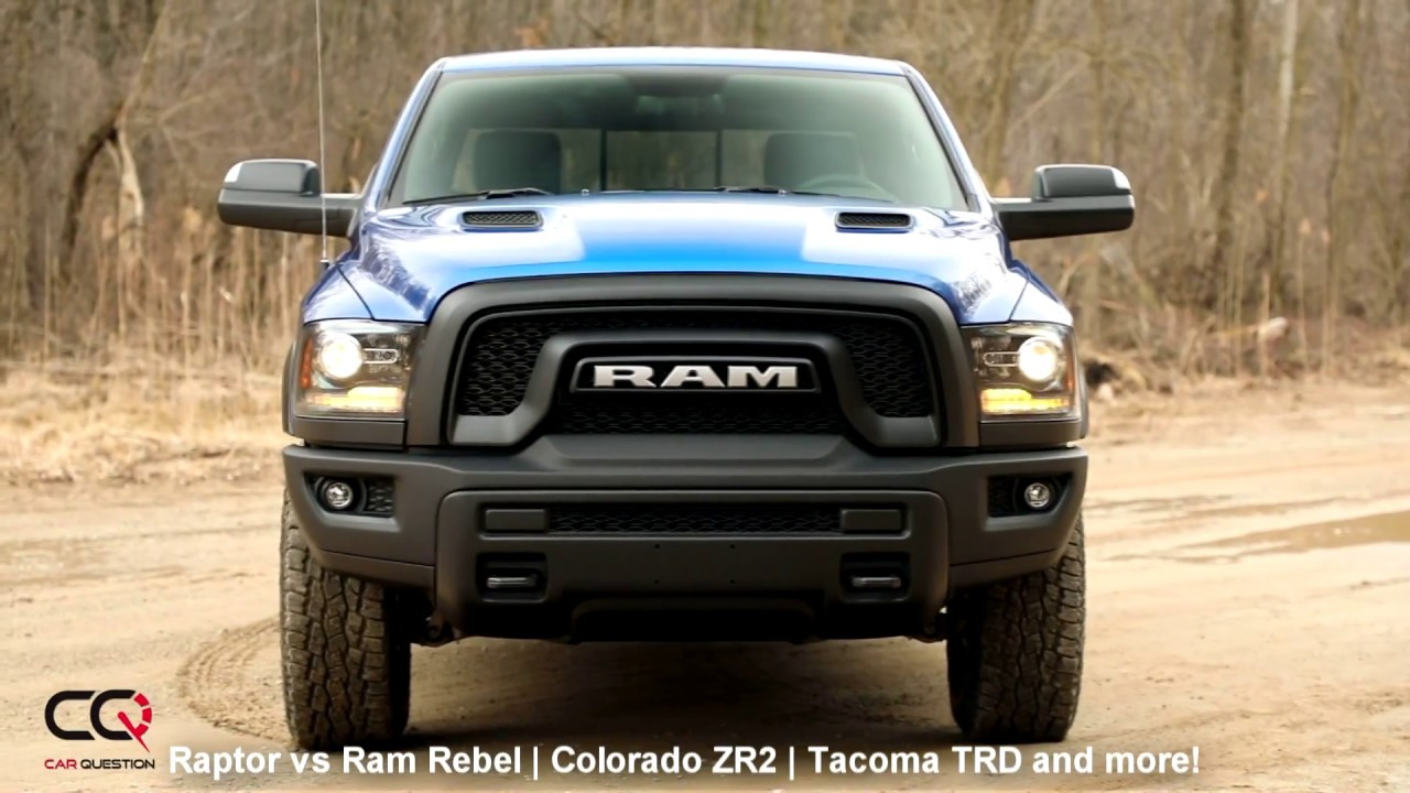 2017 2018 Ford Raptor Vs Ram Rebel Colorado Zr2 Tacoma Trd Pro And More Part 4 9
