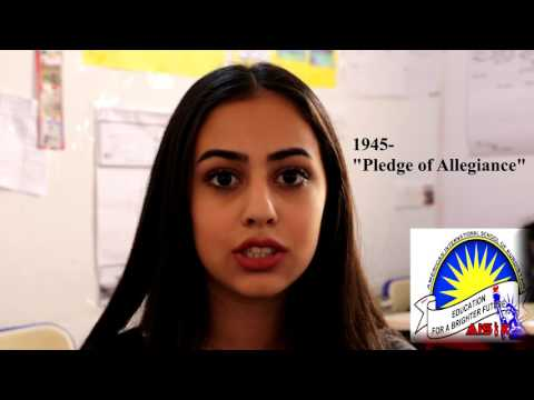American International School of Kurdistan / Iraq: Pledge of Allegiance Symbolism and History