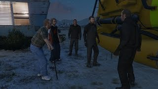 GTA 5 (PS4) - Mission #28 - The Merryweather Heist (Offshore) [Gold Medal]