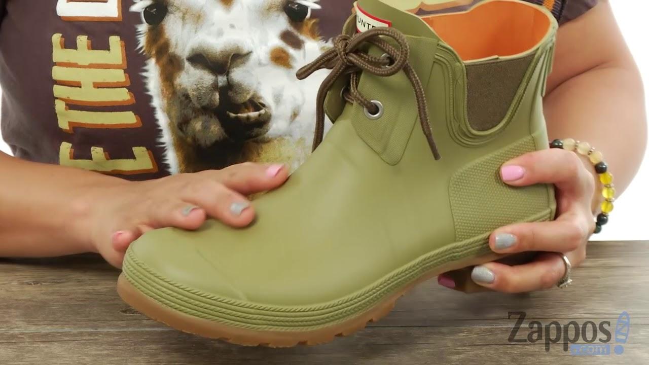 73f8c6826 Hunter Original Sissinghurst Lace Pull-On Boot SKU: 9077543 - YouTube