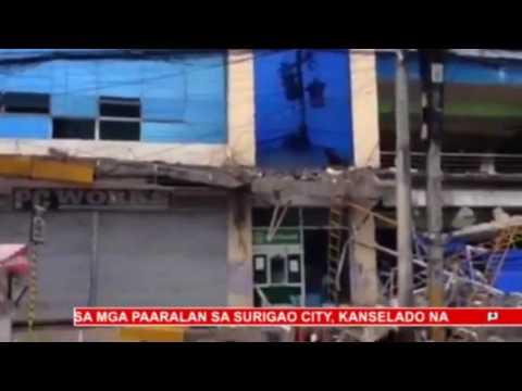 Surigao del Norte, niyanig ng magnitude 6.7 na lindol; 6 katao, naitalang patay