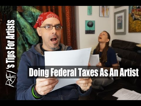 How To Do Federal Tax Deductions  As An Artist