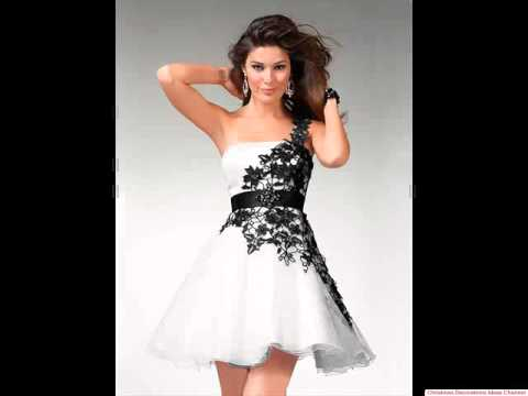 Amazing black and white prom dresses - The best prom dresses ever ...