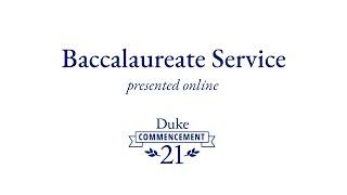 Baccalaureate Service 2021