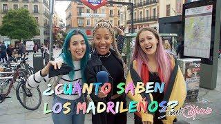 Sweet California - ¿Cuánto saben los Madrileños? #Vlog