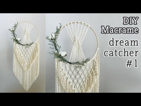 Diy Tutorial How To Make A Dreamcatcher Doovi