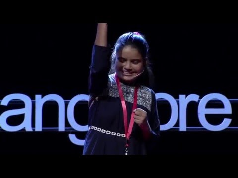 What happens when slum kids turn child journalists? | Chandni - | TEDxBangalore