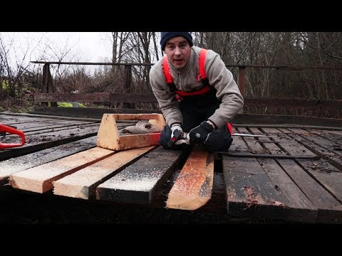 Repair my wooden Bridge to the forest
