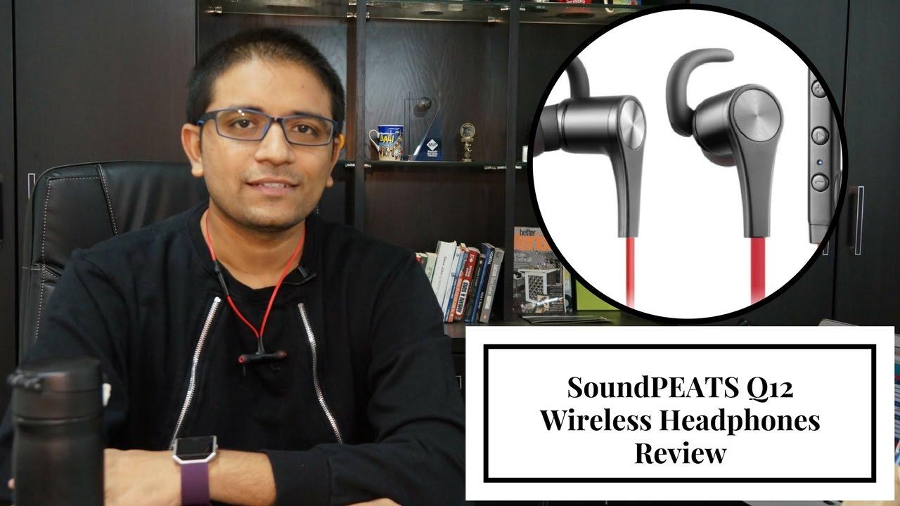 33fb81a7276 SoundPEATS Q12 Wireless Headphones Review - PhoneRadar - YouTube
