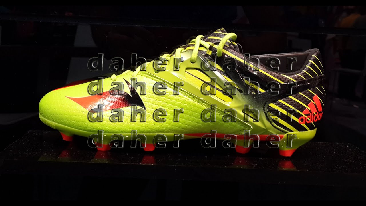 Adidas Upcoming Football Shoes 2016 ACE15/X15/MESSI15 Messi,suarez,robben,bale...    YouTube