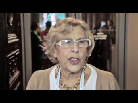 Interview Manuela Carmena, Mayor of Madrid at the UCLG World Council in Paris 2015