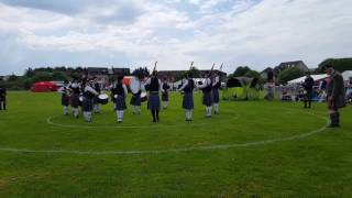 Boghall And Bathgate Juvenile Pipe Band, Bathgate Games, Playing Up To G2, May 2017