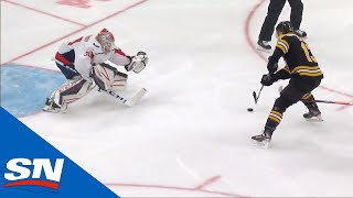 Charlie Coyle Continues The Bruins' Onslaught With His 100th Career Goal On A Breakaway