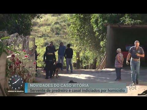 Caso Vitória: Exame de DNA comprova participação de suspeito no crime   Primeiro Impacto (02/07/18)