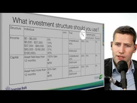 04 What investment structure should you use?