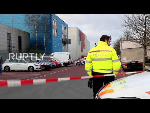 Netherlands: Letter bomb explodes at Amsterdam postal-sorting center