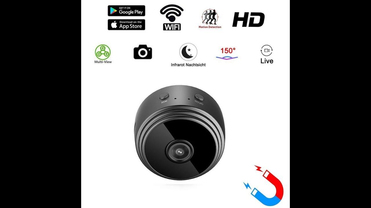 Amazon Review: MICF Mini kamera Wlan Überwachungskamera