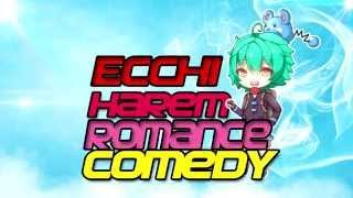Top 10 Ecchi / Harem / Romance / Comedy - Animes 2015 [NEW]