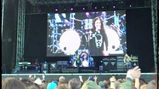 OZZY OSBOURNE: I don´t wanna change the world, live in Malmö 2012
