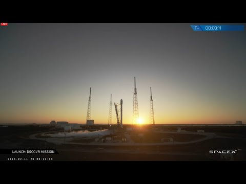 SpaceX Falcon 9 v1.1 Launch 12.02.2015 - DSCOVR