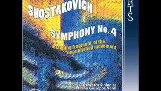 Dmitri Shostakovich - Symphony No. 4 in C minor, Op. 43- I. Allegretto poco moderato - Oleg Caetani