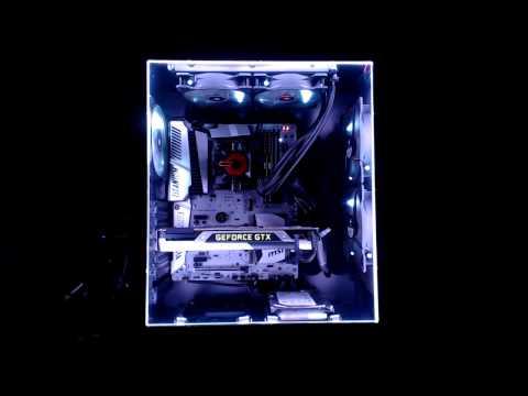 PC Case Mod: 220 Programmable LEDs + Arduino