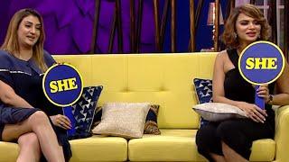Juzz Baatt - Juhi Parmar, Aashka Goradia Hindi Zee Tv Serial Talk Show Rajeev Khandelwal   Ep - 12