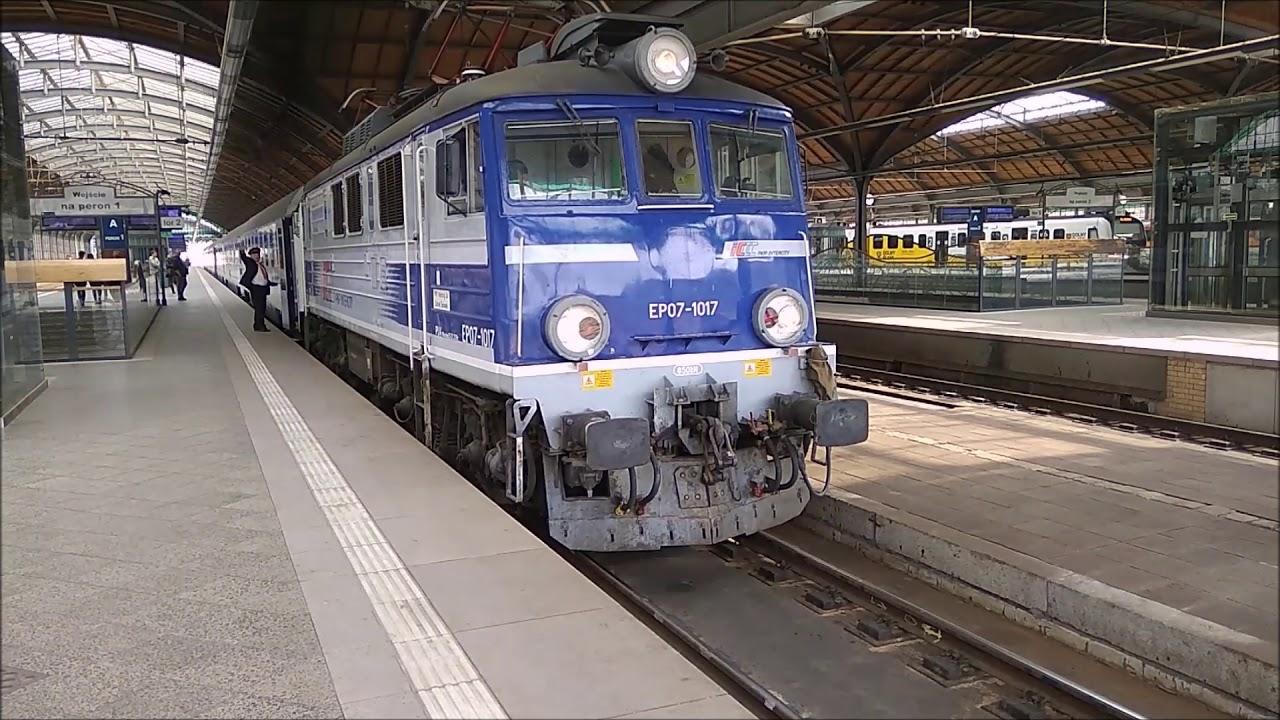 Wielkanocny specjal - składanka kolejowa PKP Wrocław Główny [KD, IC, Regio]